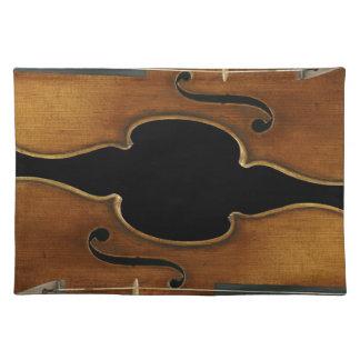 Stradivari reproduzierte an tischset