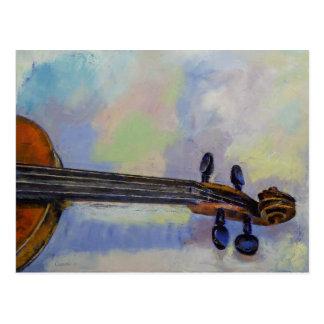 Stradivarius Postkarte