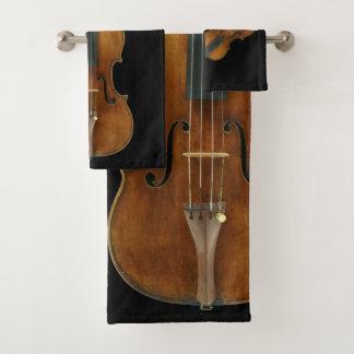 Stradivarius Violinen-Quintett Badhandtuch Set