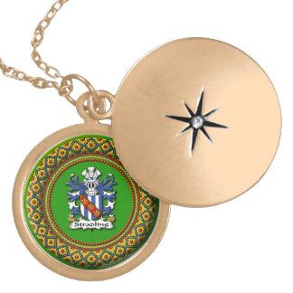 Stradling Wappen-Halsketten Vergoldete Kette