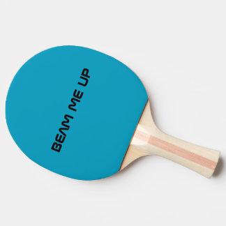 Strahlen Sie mich herauf Klingeln Pong Paddel Tischtennis Schläger