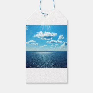 Strahlen über dem Meer Geschenkanhänger