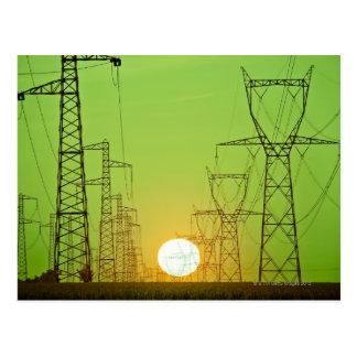 Strahlender Sun Postkarte