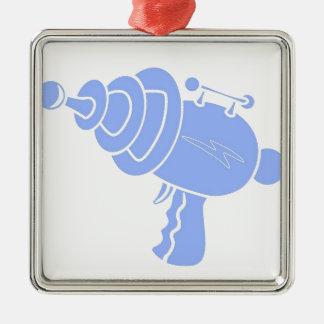 Strahln-Gewehr Silbernes Ornament