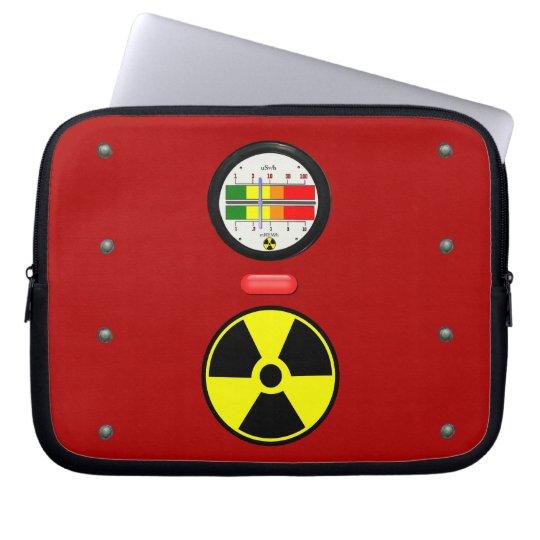 Strahlungs-Geigerzähler-Effekt-Neopren-Hülse 10 Computer Schutzhülle