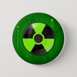 Strahlungs-Knopf Runder Button 5,7 Cm