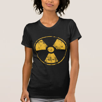 Strahlungs-Symbol T-Shirt