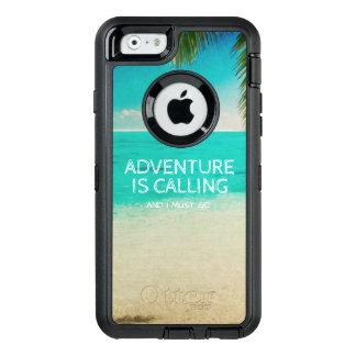 Strand-Abenteuer nennt Reise-Zitat-Telefon OtterBox iPhone 6/6s Hülle