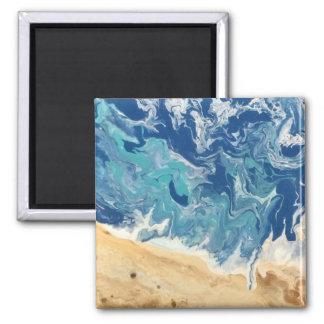 Strand-abstrakter Magnet
