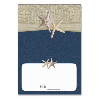 Strand Amore blaue Sitzplatz-Karte