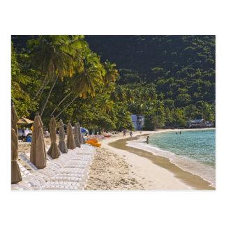 Strand an der Stock-Garten-Bucht, Insel von Postkarte