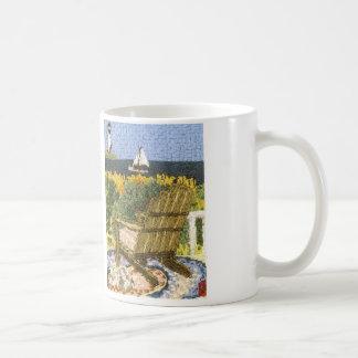 Strand-Ansicht von Adirondack Kaffeetasse