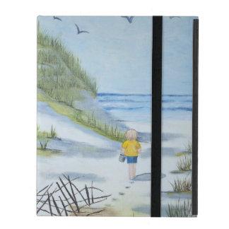 Strand-Aquarell iPad Schutzhüllen