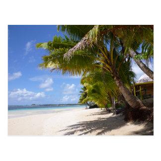 Strand auf Samoa Savaii Postkarte