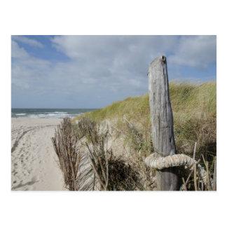 Strand auf Sylt Postkarte