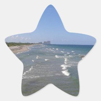 Strand-Aufkleber Stern-Aufkleber