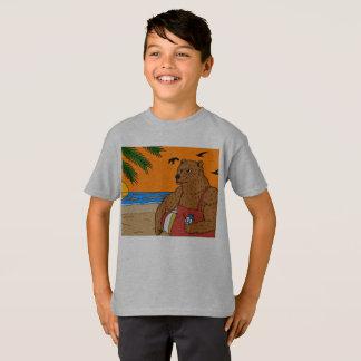Strand-Bärn-T - Shirt-Kinder T-Shirt