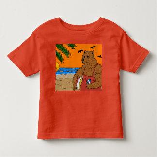 Strand-Bärn-T - Shirt-Kleinkind Kleinkind T-shirt