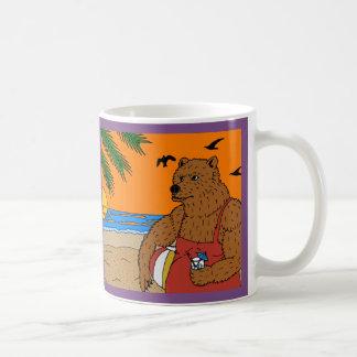 Strand-Bärn-Tasse Kaffeetasse