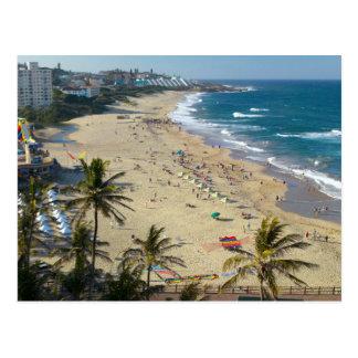 Strand bei Margate, Südküste, Kwazulu Natal Postkarte