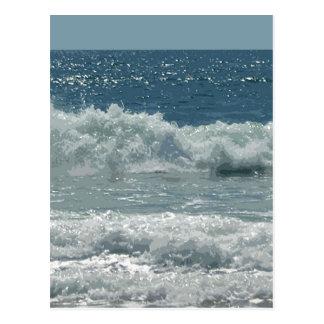 Strand bei Montauk Postkarte