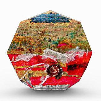 Strand-Bilder abstrakt Acryl Auszeichnung