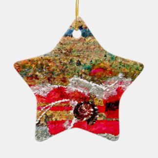 Strand-Bilder abstrakt Keramik Ornament