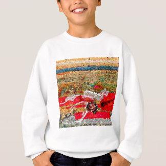Strand-Bilder abstrakt Sweatshirt