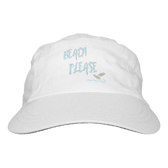 Strand-bitte tropisches Sommer-Ferien-cooles Blau Headsweats Kappe