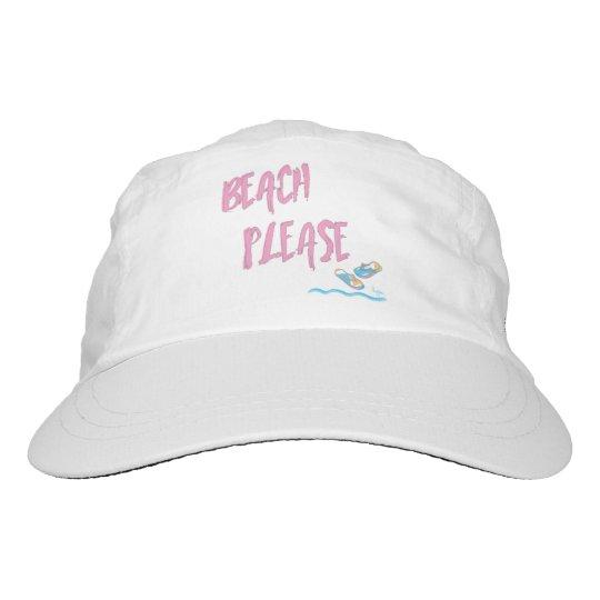 Strand-bitte tropisches Sommer-Ferien-cooles Rosa Headsweats Kappe