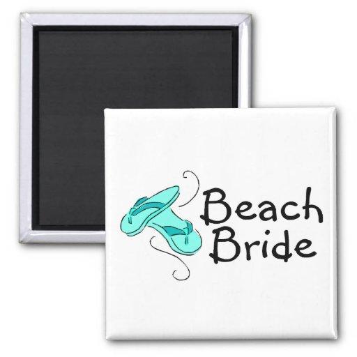 Strand-Braut (Strand-Hochzeit) Magnete