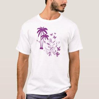 Strand Button-Oben T-Shirt