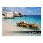 Strand Calas Mariolu, Sardinien-Barpostkarte Postkarte