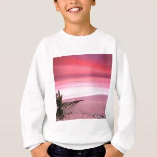 Strand-Chesapeake-Bucht-lila Himmel Sweatshirt