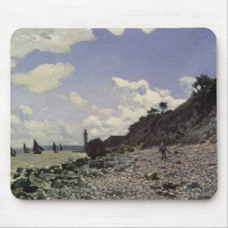 Strand Claude Monets | bei Honfleur, 1864 Mousepad