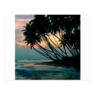 Strand Colombo Sri Lanka Postkarte