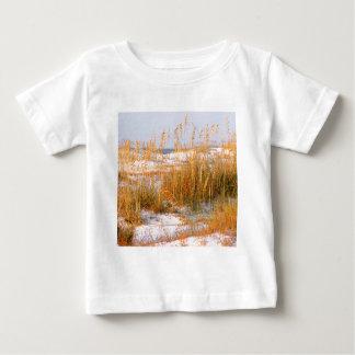 Strand-Dünen-Dämmerung Destin Baby T-shirt