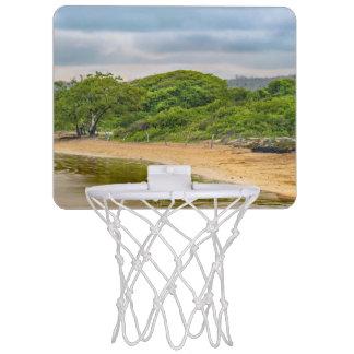 Strand EL Garrapatero, Galapagos, Ecuador Mini Basketball Netz