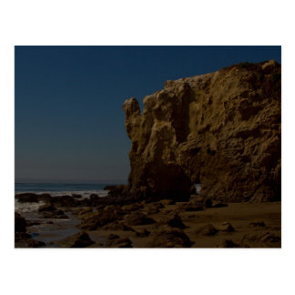 Strand EL Matador, Malibu, Kalifornien Postkarte