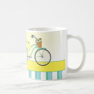Strand-Fahrrad Kaffeetasse