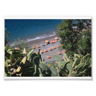 Strand-Farbe Fotodruck