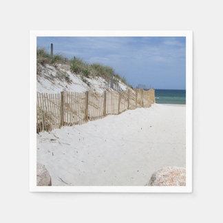 Strand-Foto Papierserviette
