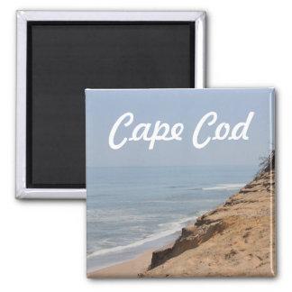Strand-Foto Quadratischer Magnet