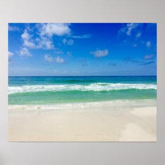 Strand-Fotografie nehmen mich zum Meer Poster