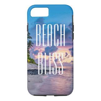 Strand-Glück. Schöne tropische Insel iPhone 8/7 Hülle
