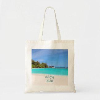 Strand-Glück tropisch Tragetasche