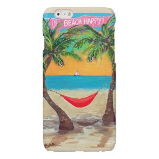 Strand glücklicher iPhone 6 Fall