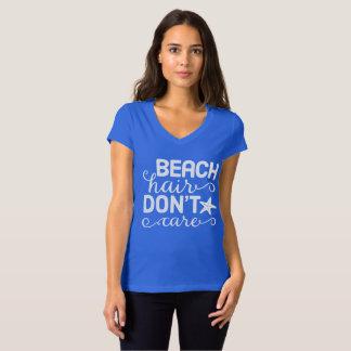 Strand-Haar interessieren sich nicht T-Shirt