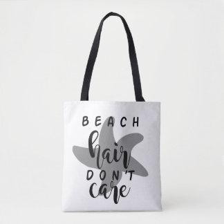 Strand-Haar interessieren sich nicht Tasche