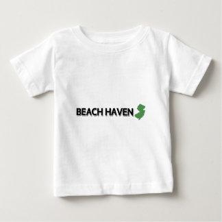 Strand-Hafen, New-Jersey Baby T-shirt